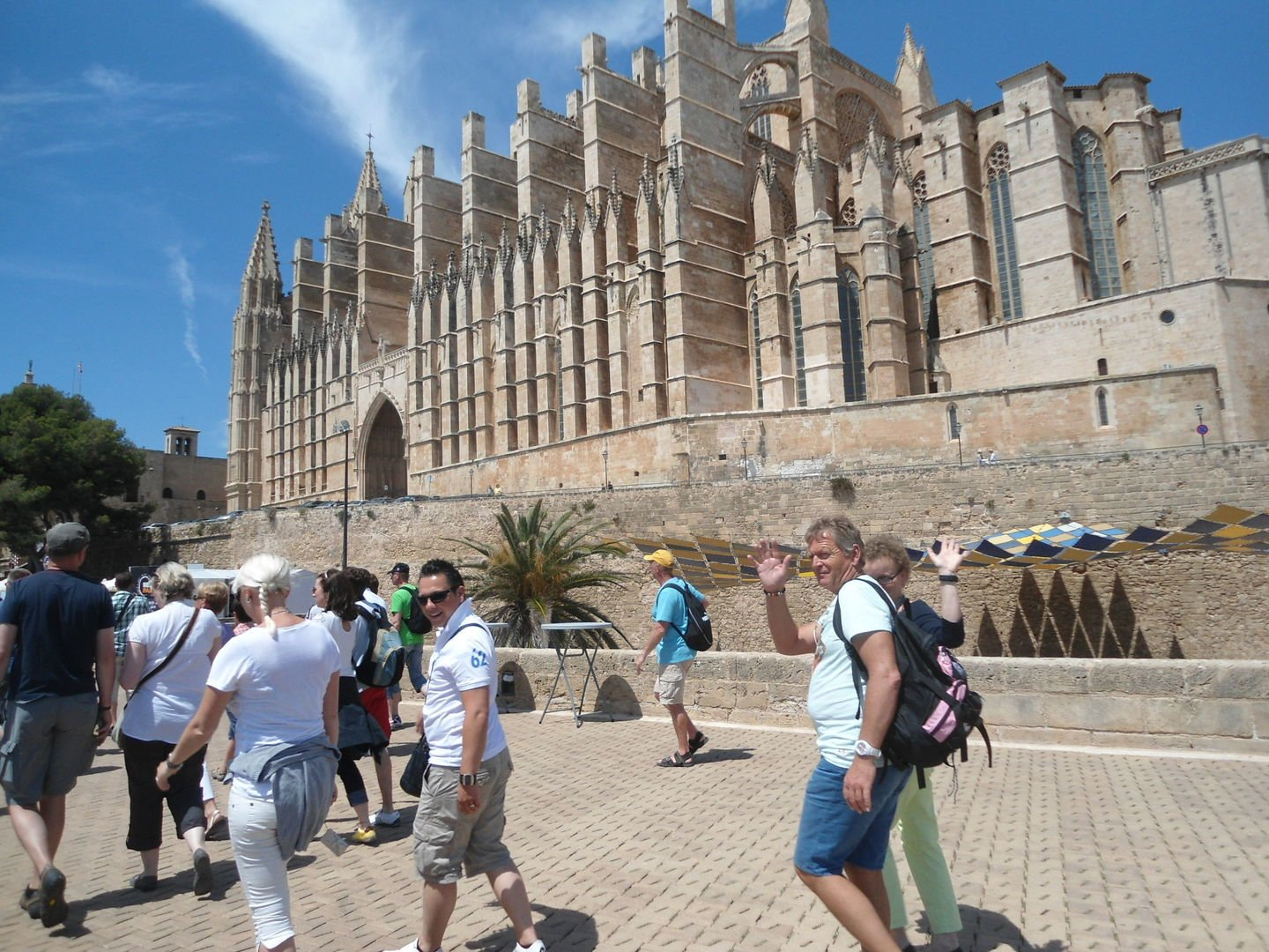 walking in palma